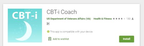 CBT-I COACH APP DOWNLOAD